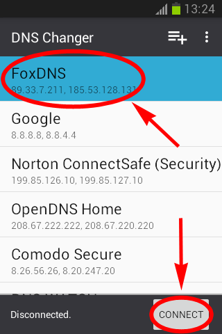 FoxDNS - DNS Changer Lilly